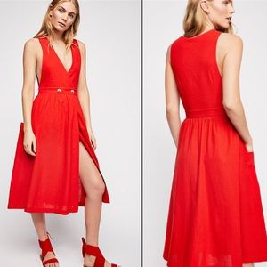 Free People Diana Midi Dress